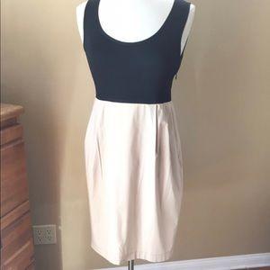 DKNY Black/Khaki Dress Size 12